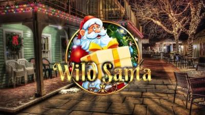 Играть в новогодний видеослот Wild Santa на деньги
