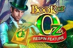 Слот Book of Oz с пятью вращающимися барабанами и десятью игровыми линиями